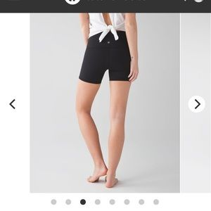Lulu wunder under shorts black